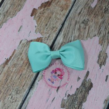 Minnie Bow on Croc Clip ~ Tropic