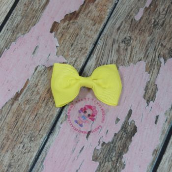 Minnie Bow on Croc Clip ~ Pastachio