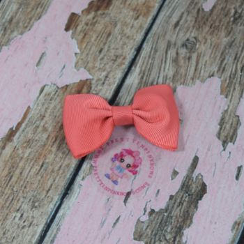 Minnie Bow On Croc Clip ~ Watermelon
