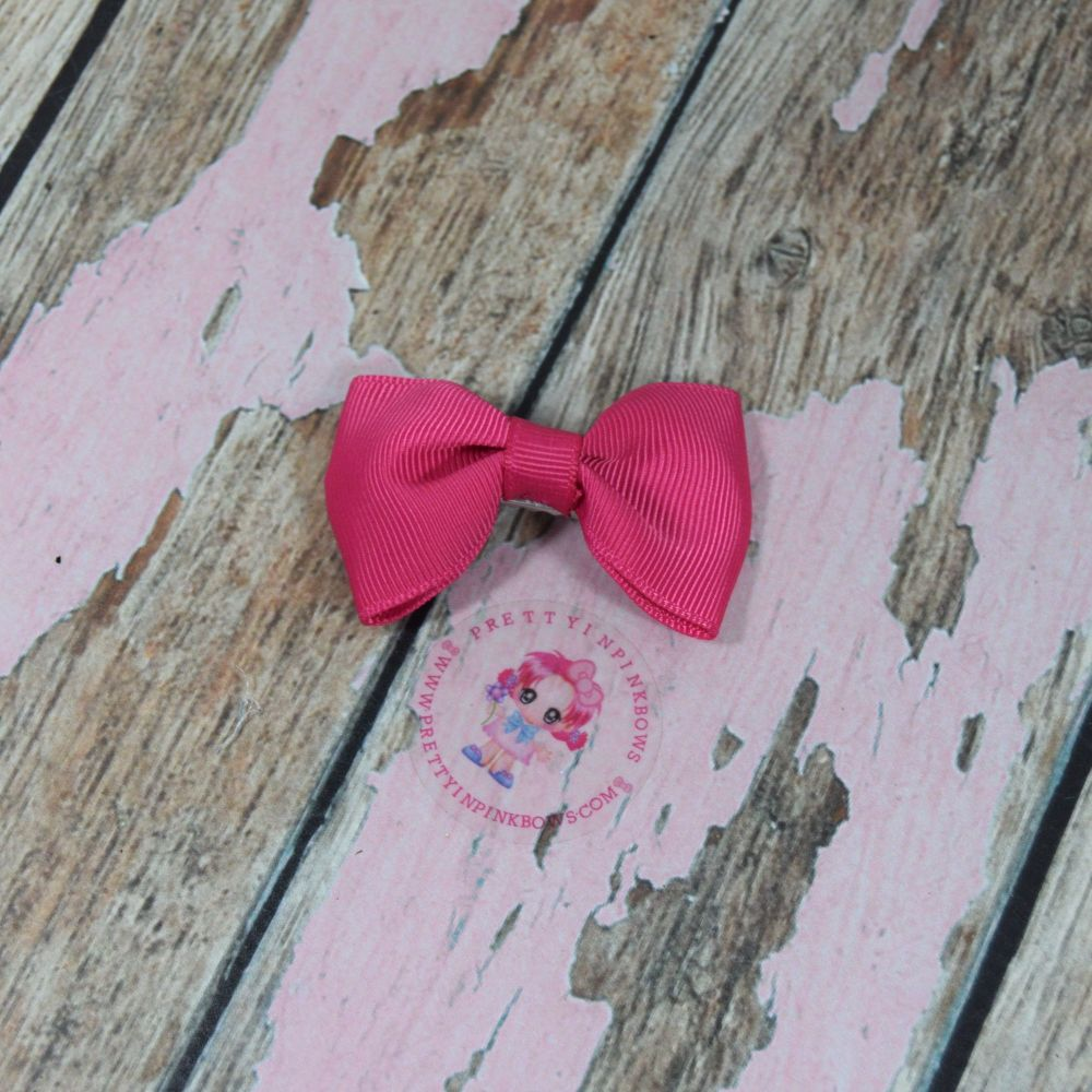 Minnie Bow On Croc Clip ~ Camella Rose
