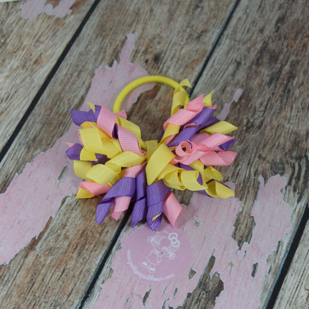 Short Korker - Yellow, Pink and Lilac