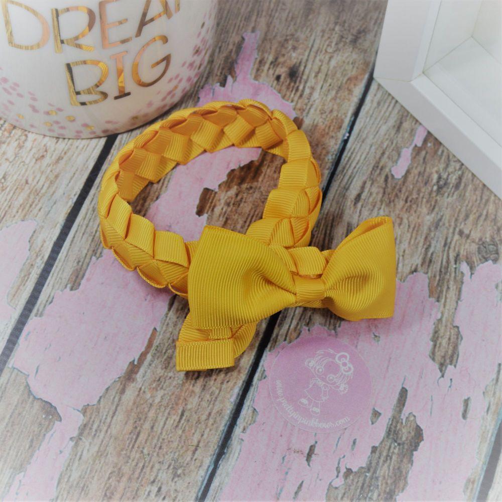 Medium Bun Wrap in Dandiloin ~ With Minnie bow