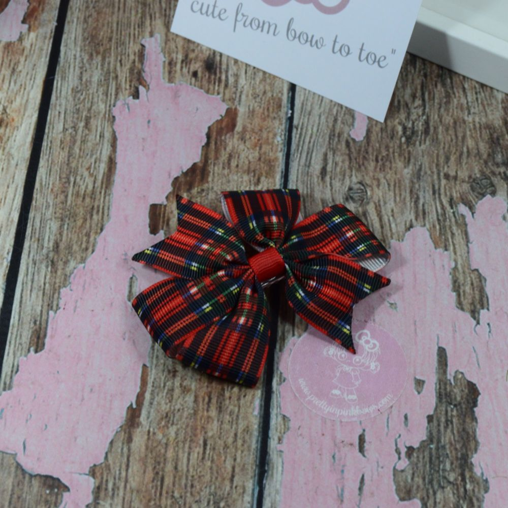Tartan Pinwheels Black