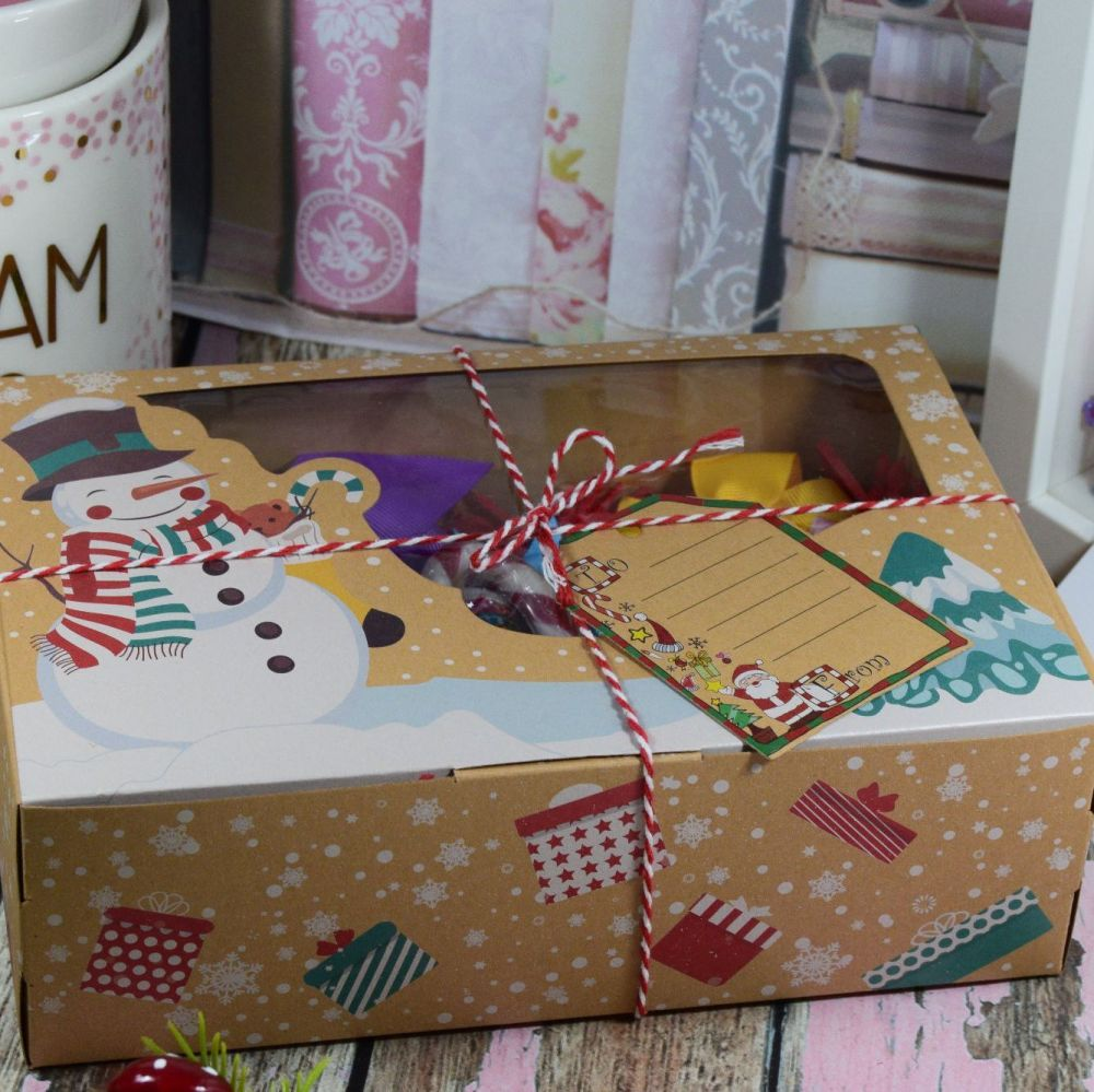Deluxe Christmas Bow Boxes