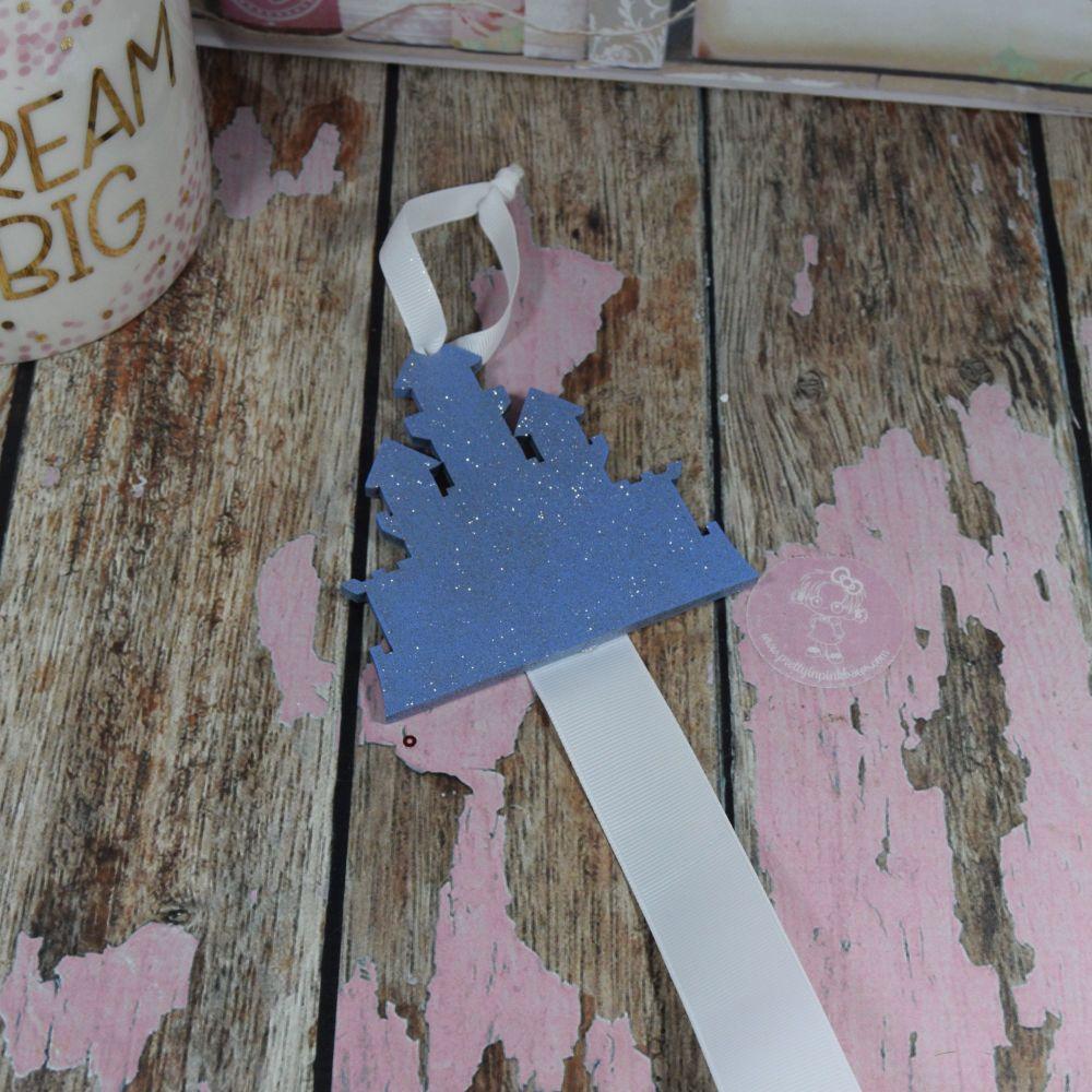 Starter Bow Holder Lilac Glitter Castle