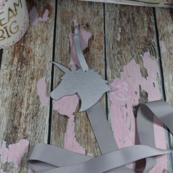 Starter Bow Holder Sliver Unicorn