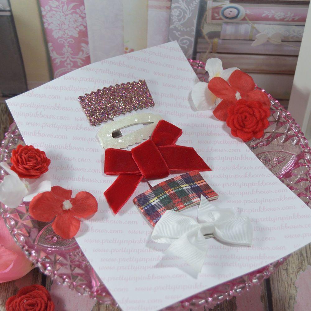 Valentines Clippie set