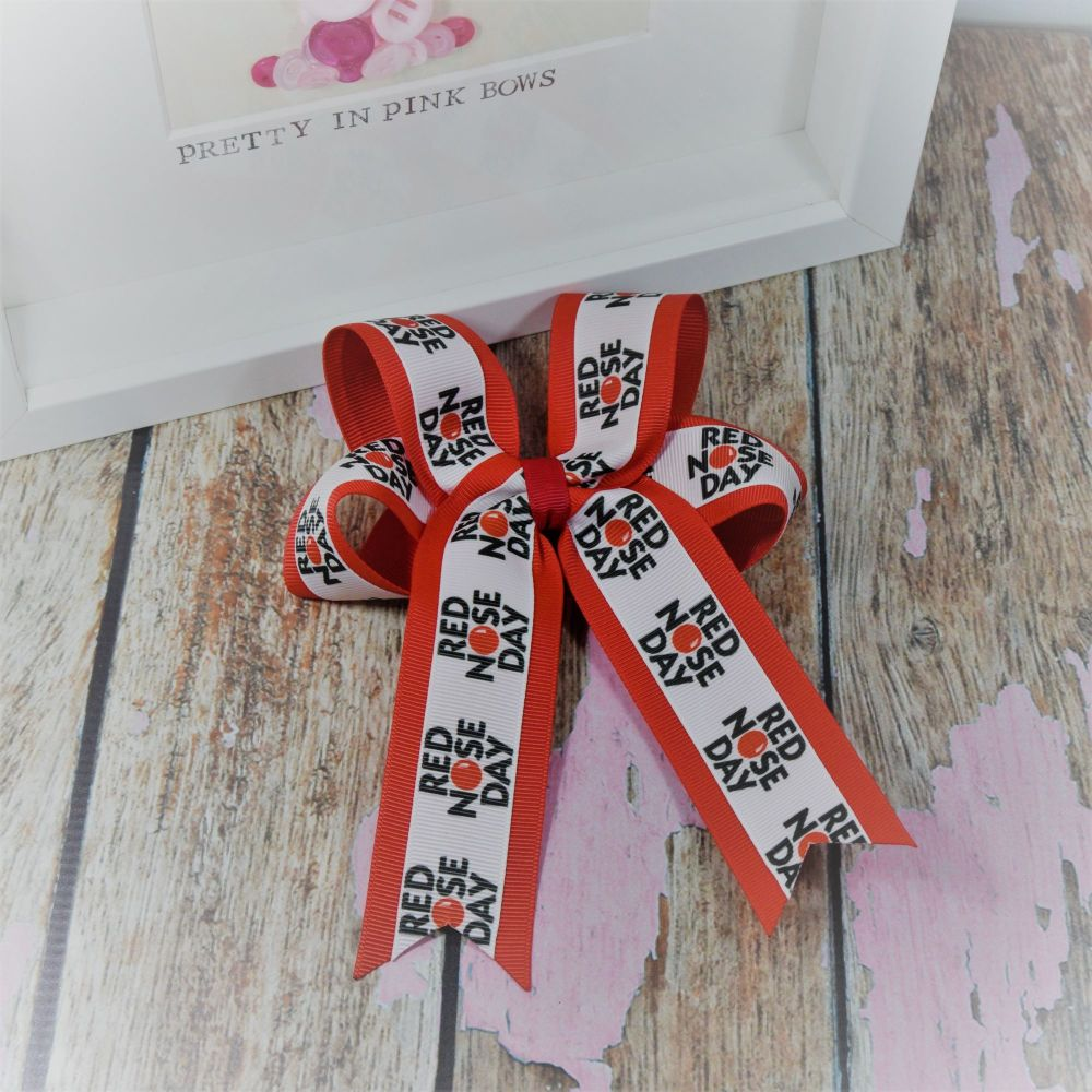 Red Nose Day Minnie Bows