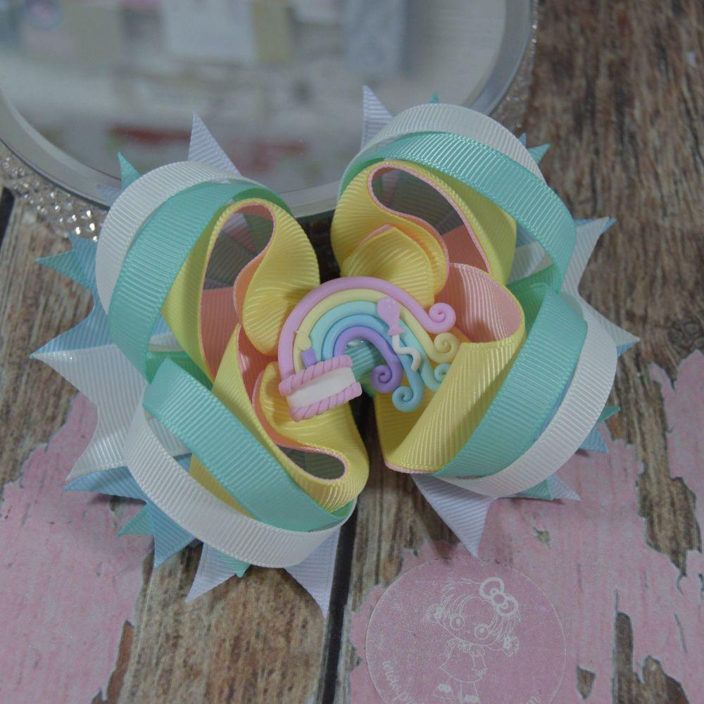 Tooth Fairy Princess Bow Birthday Rainbow