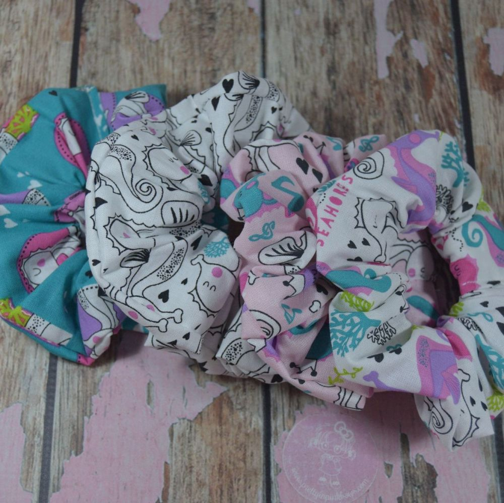 Scrunchies Sea horse collection