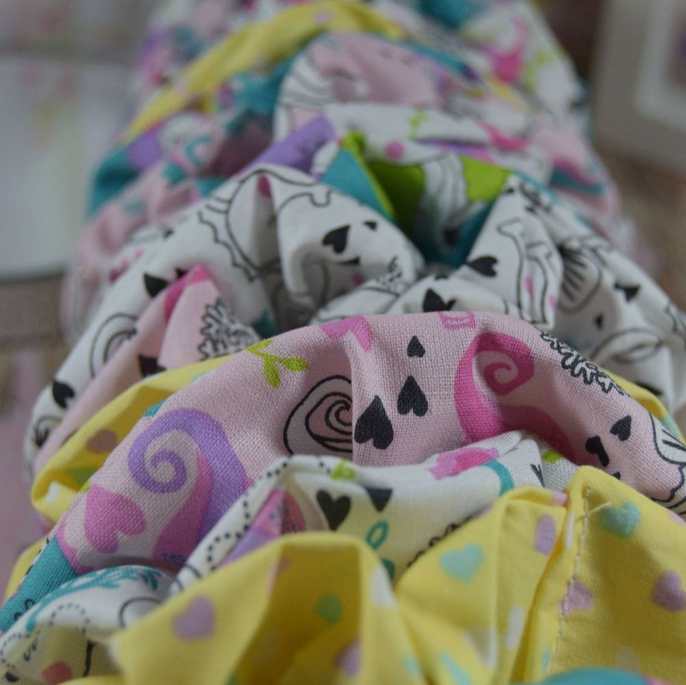 Custom colour/pattern scrunchie