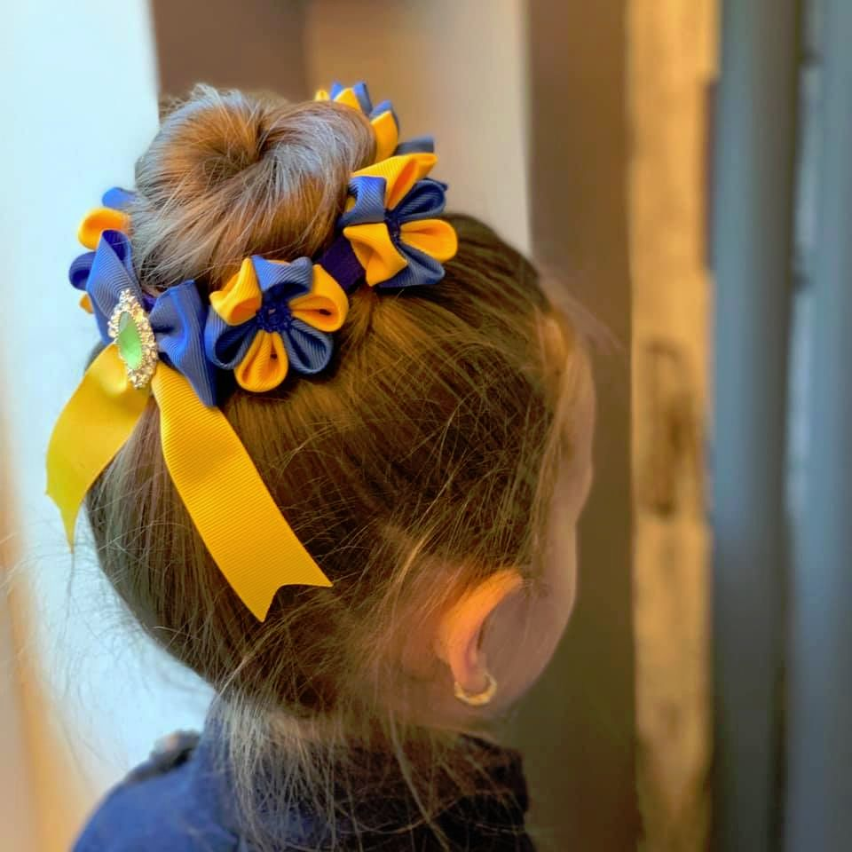 Custom made flower crown