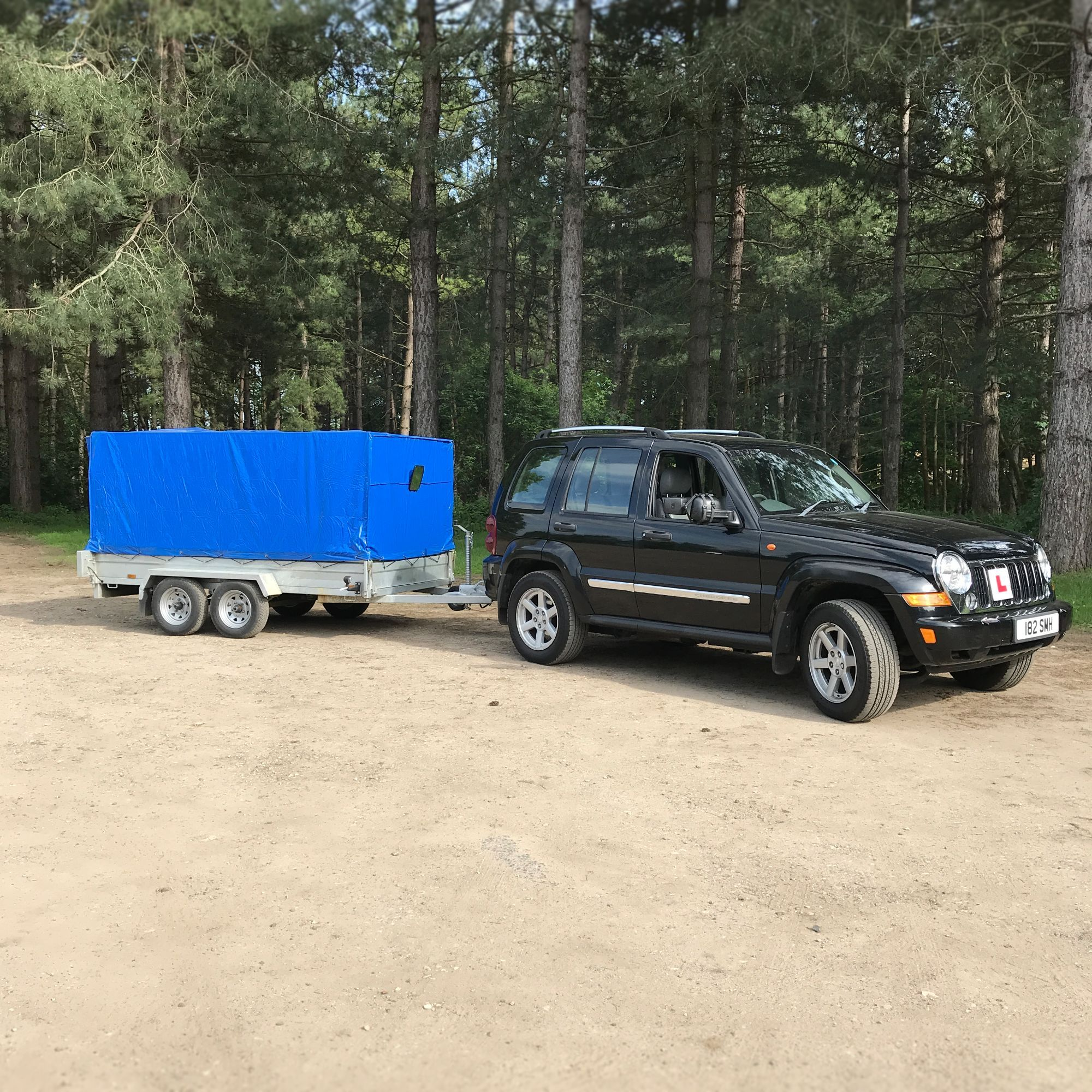 B+E licence towing course vehicle hire in Kent