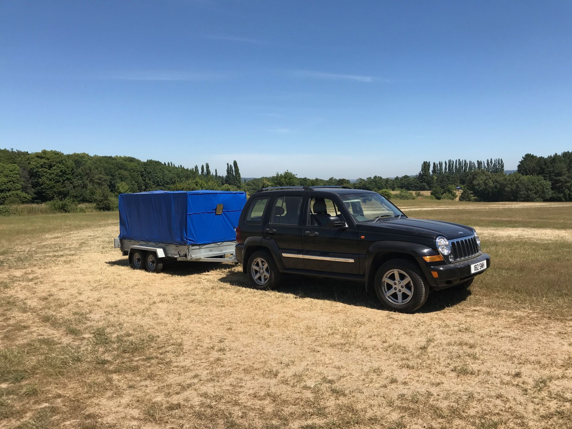 Christina who completed one of our trailer towing handling courses in Kent