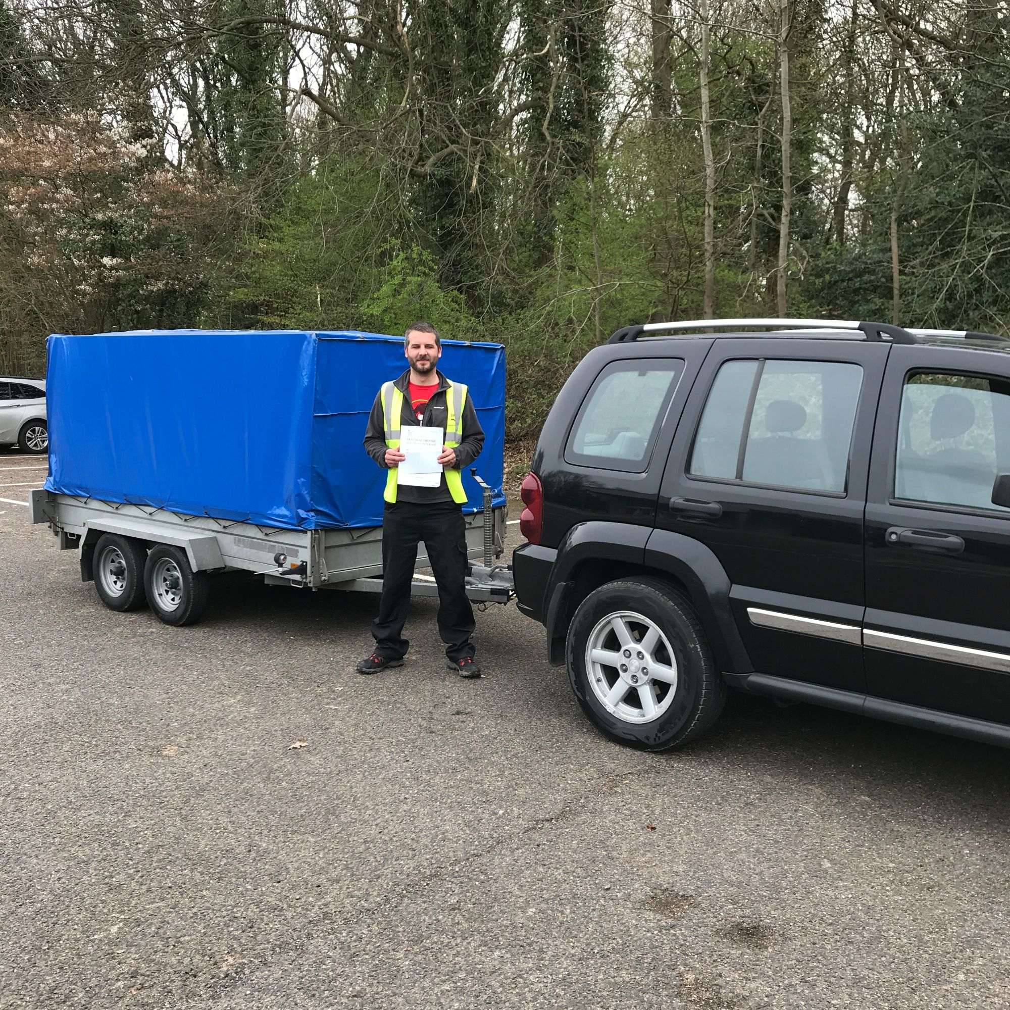 B+E licence towing course in Kent
