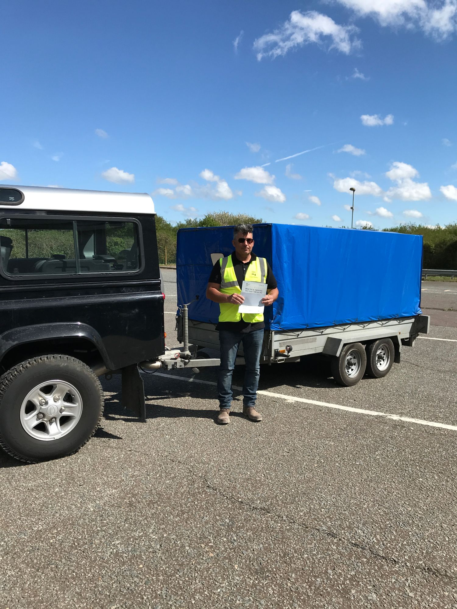 B+E licence towing course for experienced in Kent