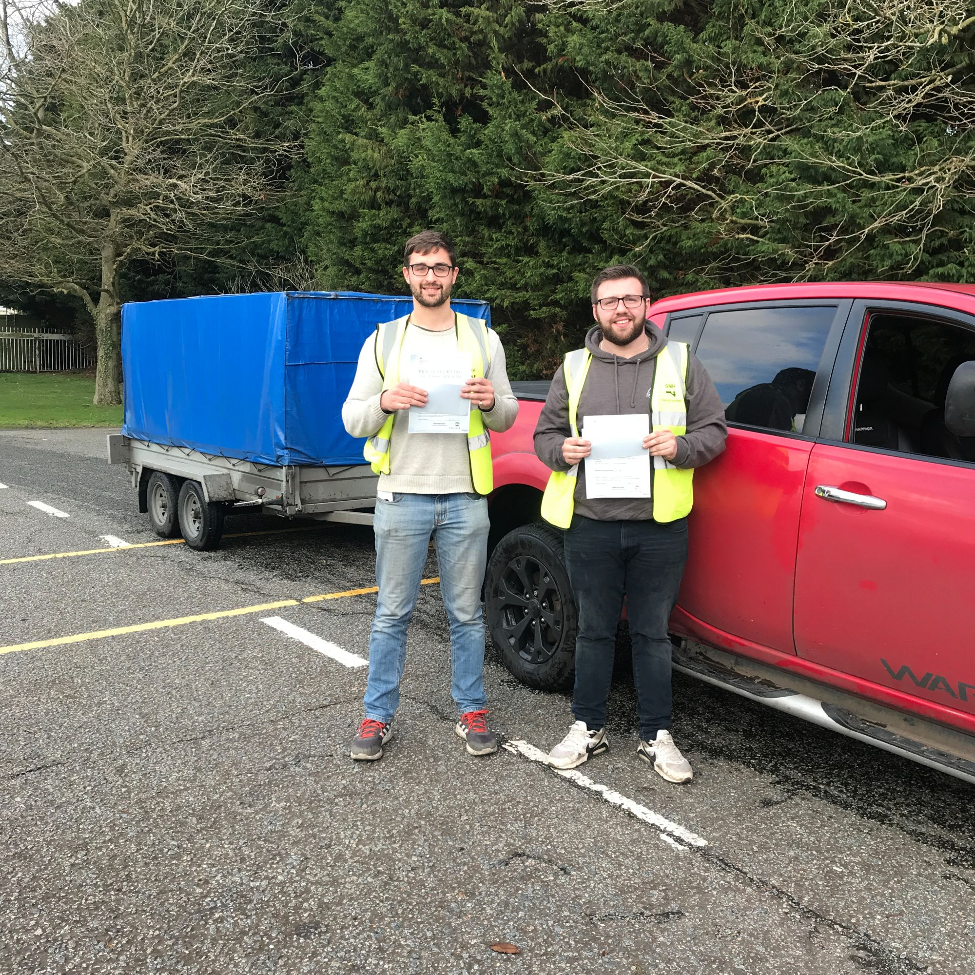B+E Shared Towing Course Test Pass in Canterbury, Faversham, Whitstable, Kent