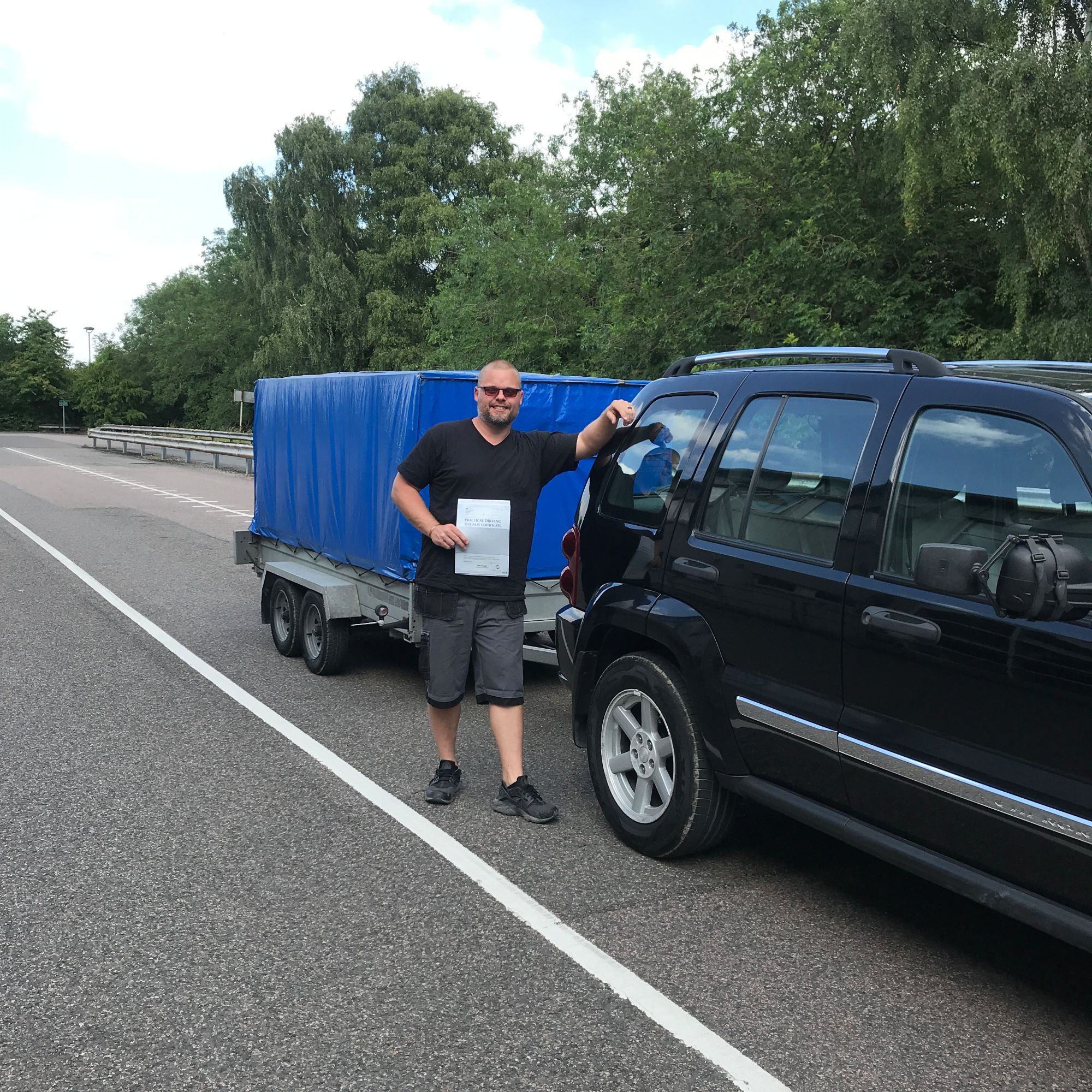 BE Trailer Towing Test Licence Courses in Gillingham, Detling, Meopham, Gravesend & Dartford Areas in Kent