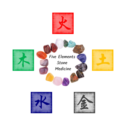 Five Elements Crystal Therapy Logo