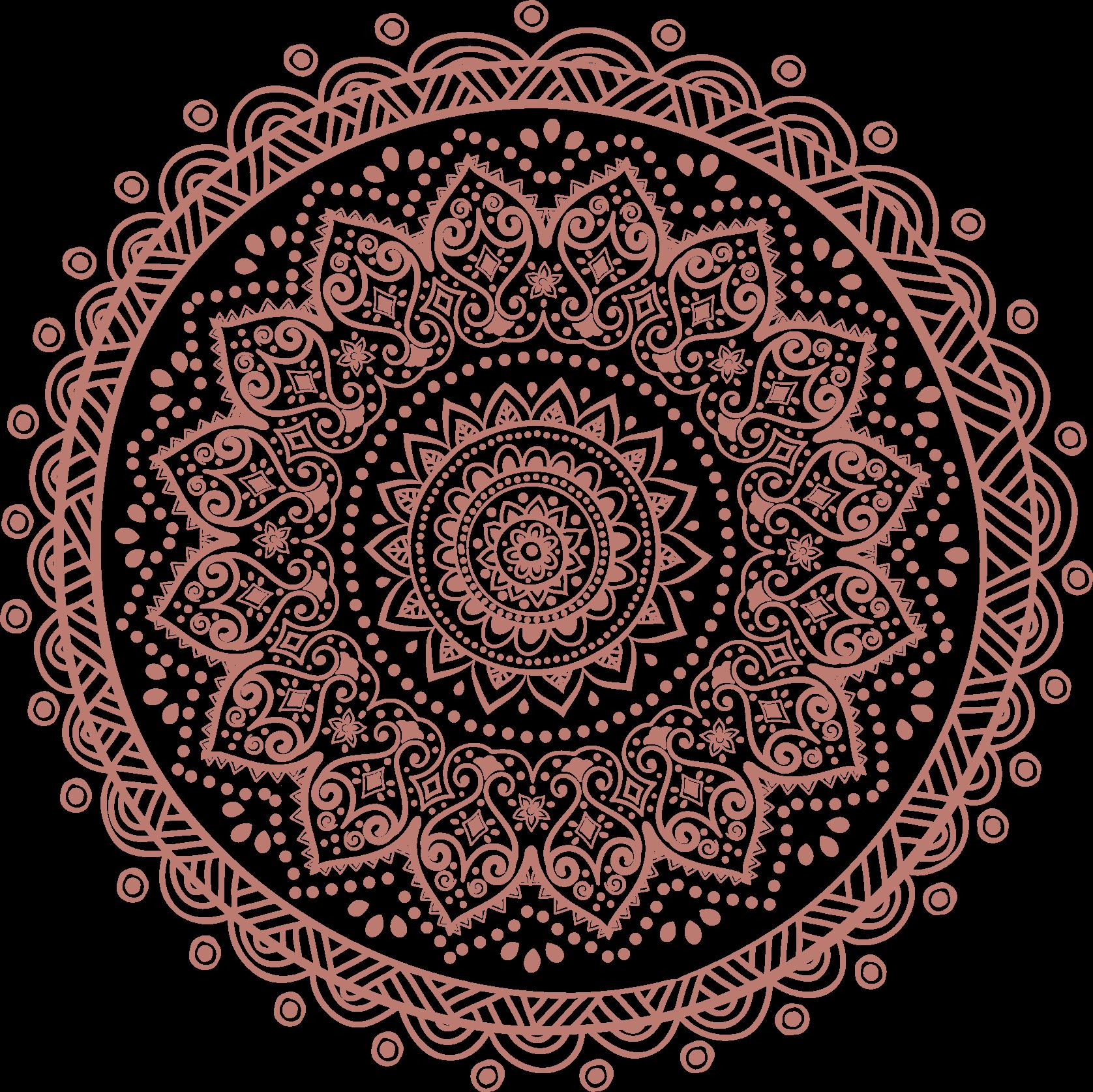 mandala yoga background