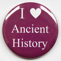 I Love Ancient History Fridge Magnet