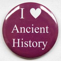 I Love Ancient History Fridge Magnet