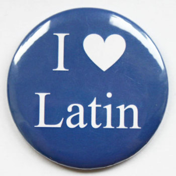 I Love Latin Fridge Magnet