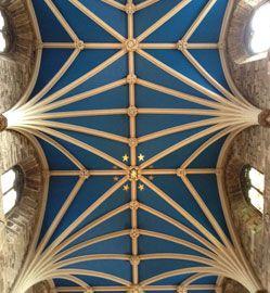 Ceiling of St Giles, Edinburgh