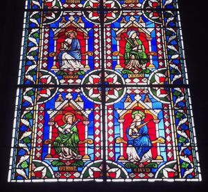 Stained glass window, Lincoln Cathedral