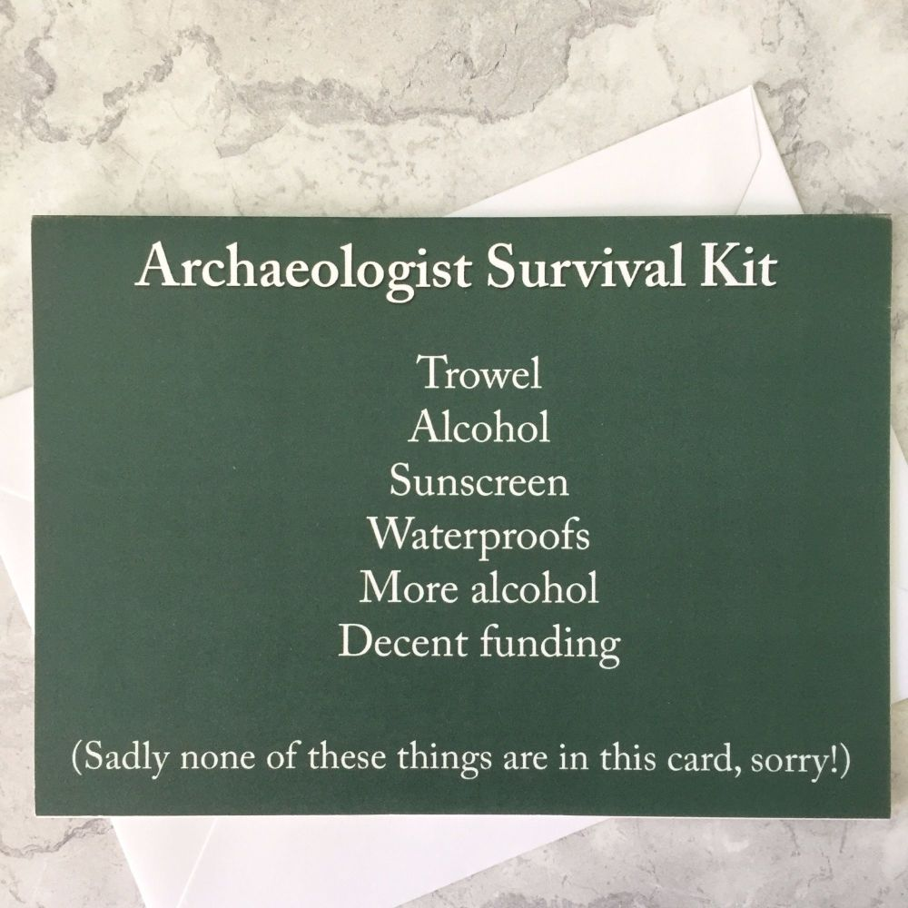Archaeologist Survival Kit