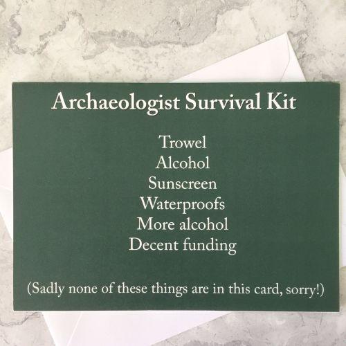 Archaeologist Survival Kit