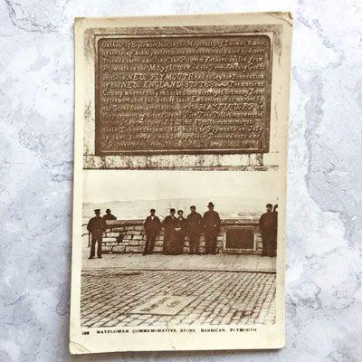 Mayflower memorial