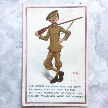 First World War postcard