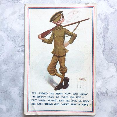 First World War postcard