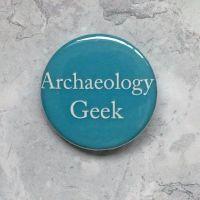 Archaeology Geek - Teal