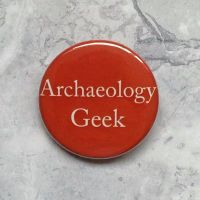 Archaeology Geek - Orange