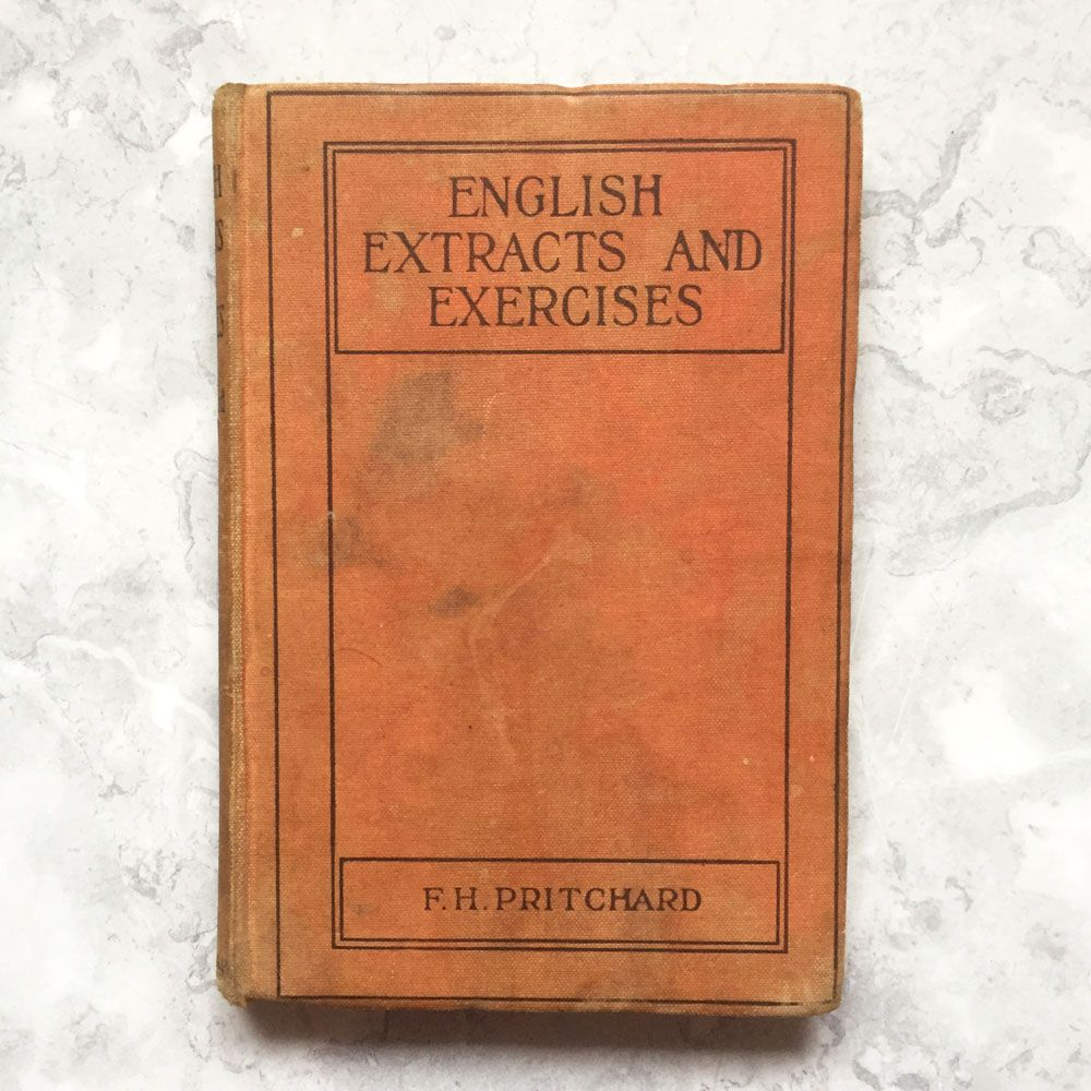 English Extracts and Exercises (1944)