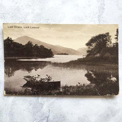 Luss Straits, Loch Lomond