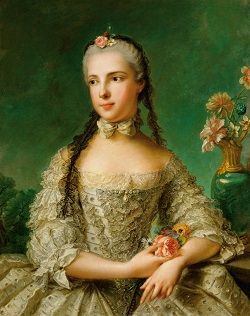 Portrait of Isabella of Parma by Jean-Marc Nattier.