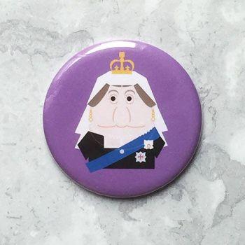 Queen Victoria magnet