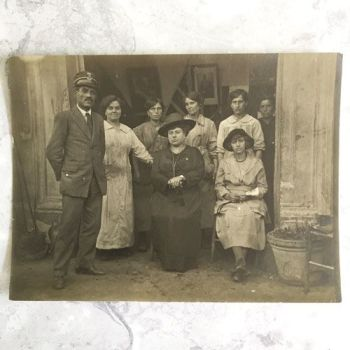 Vintage photo - Posto di Ristore