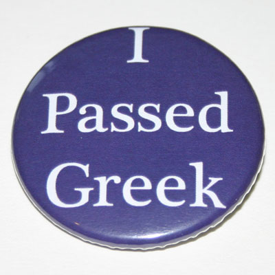 I Passed Greek