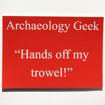 Archaeology Geek
