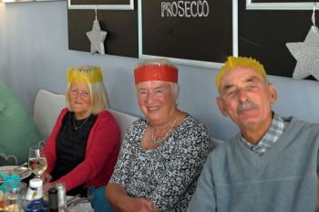 Christmas at Lilys - Sandra Brown, Hazel & Derek Pearson.