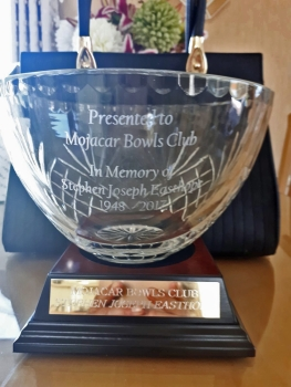 2018 ~ Steve ~ Trophy