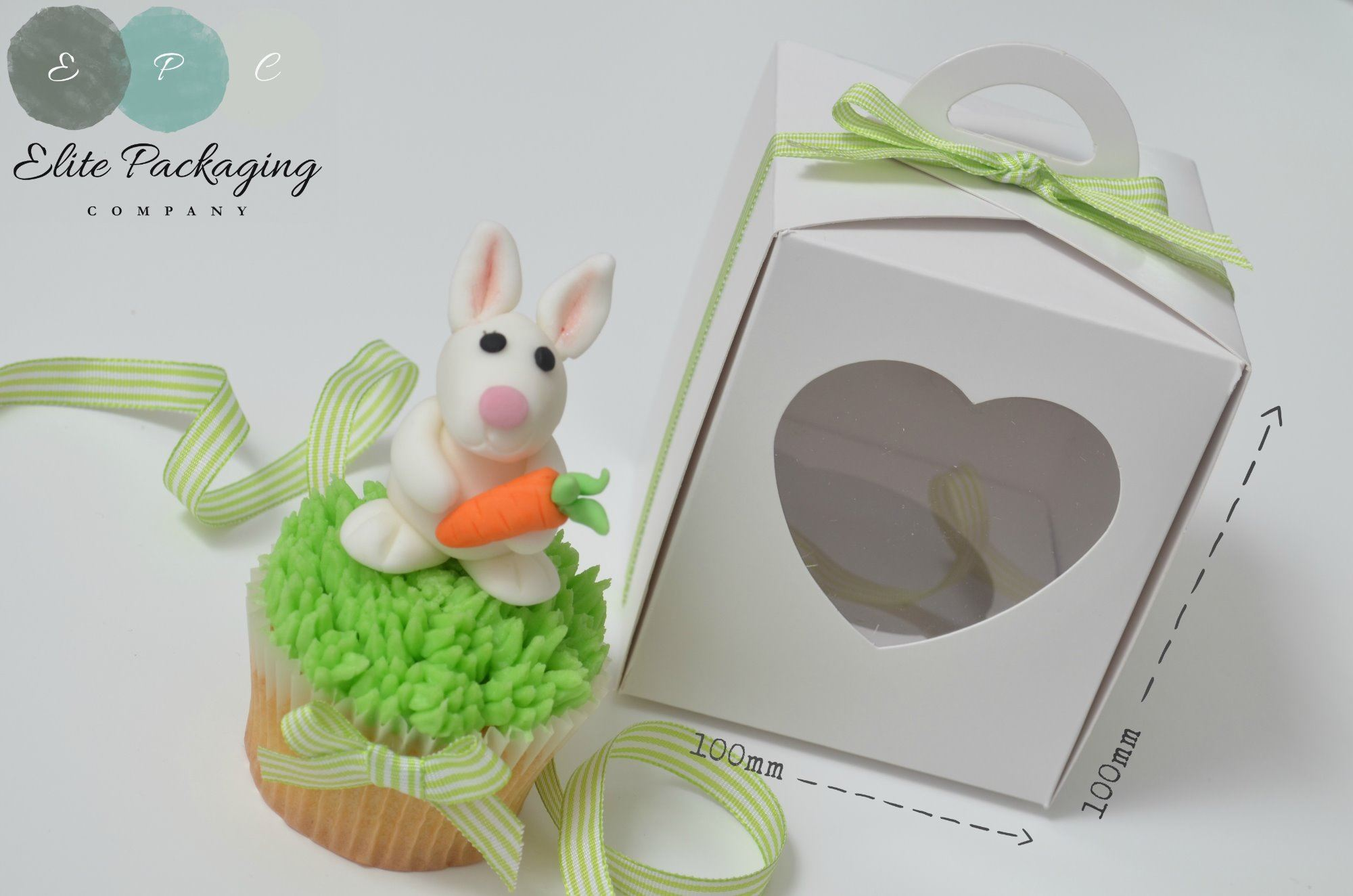 large single cupcake box 100mm
