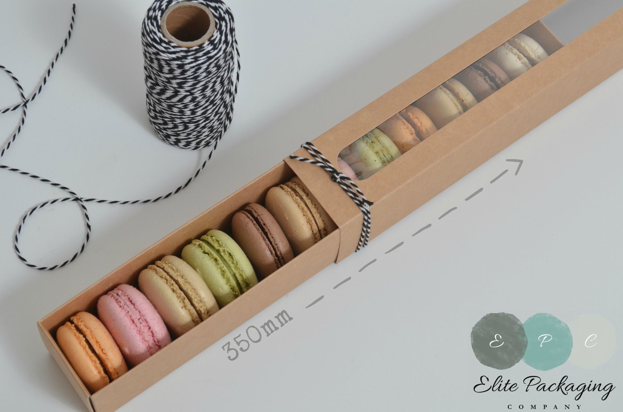 12pk macaron box promotional offer