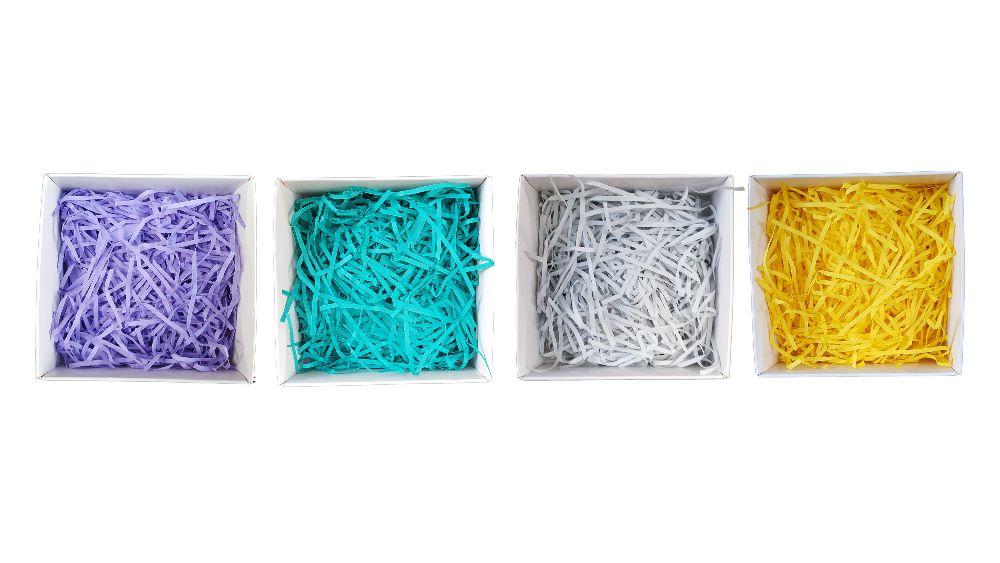 Shredded Paper, Embellishments & Tags