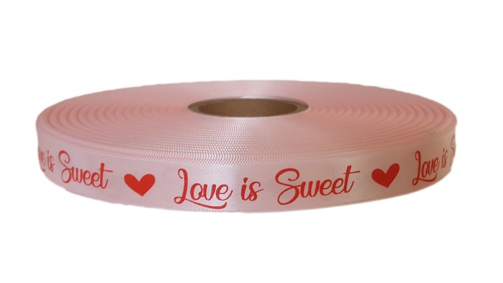 15mm Love Is Sweet Ribbon