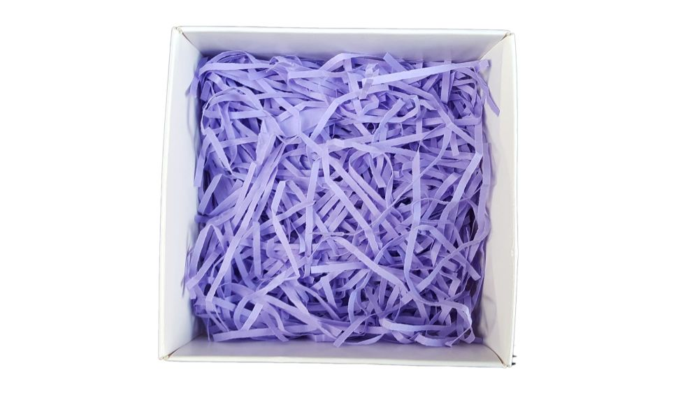 Lilac Shredded Paper - 50g